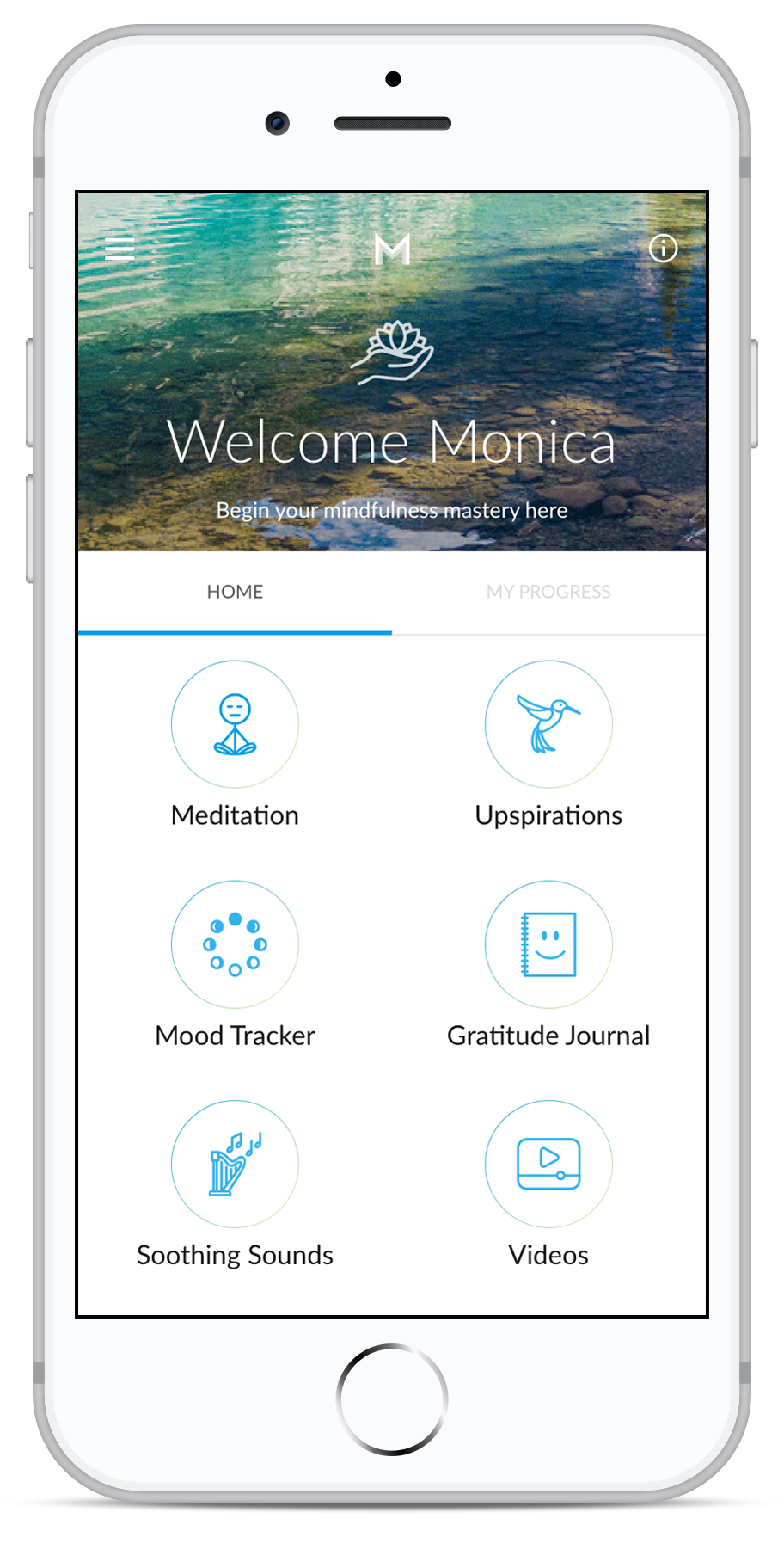 Download the Masters of Mindfulness App by The Exceptional