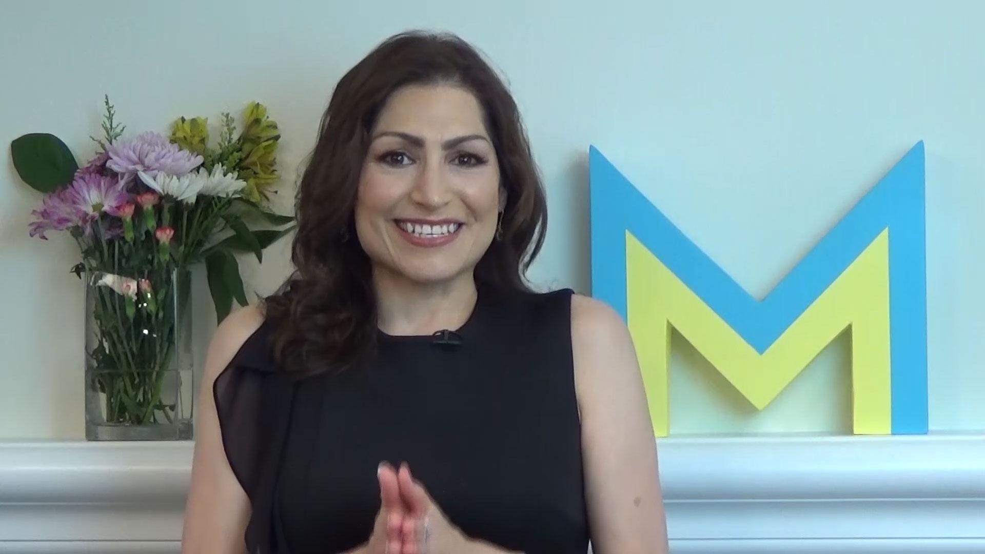 Monica Ortiz smiling