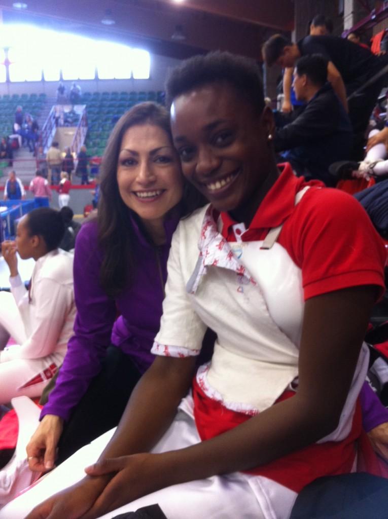 Arsenelle Babela & Monica Ortiz