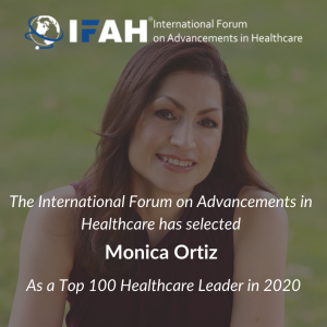 IFAH honors Monica Ortiz as a Top 100 Healthcare Leader